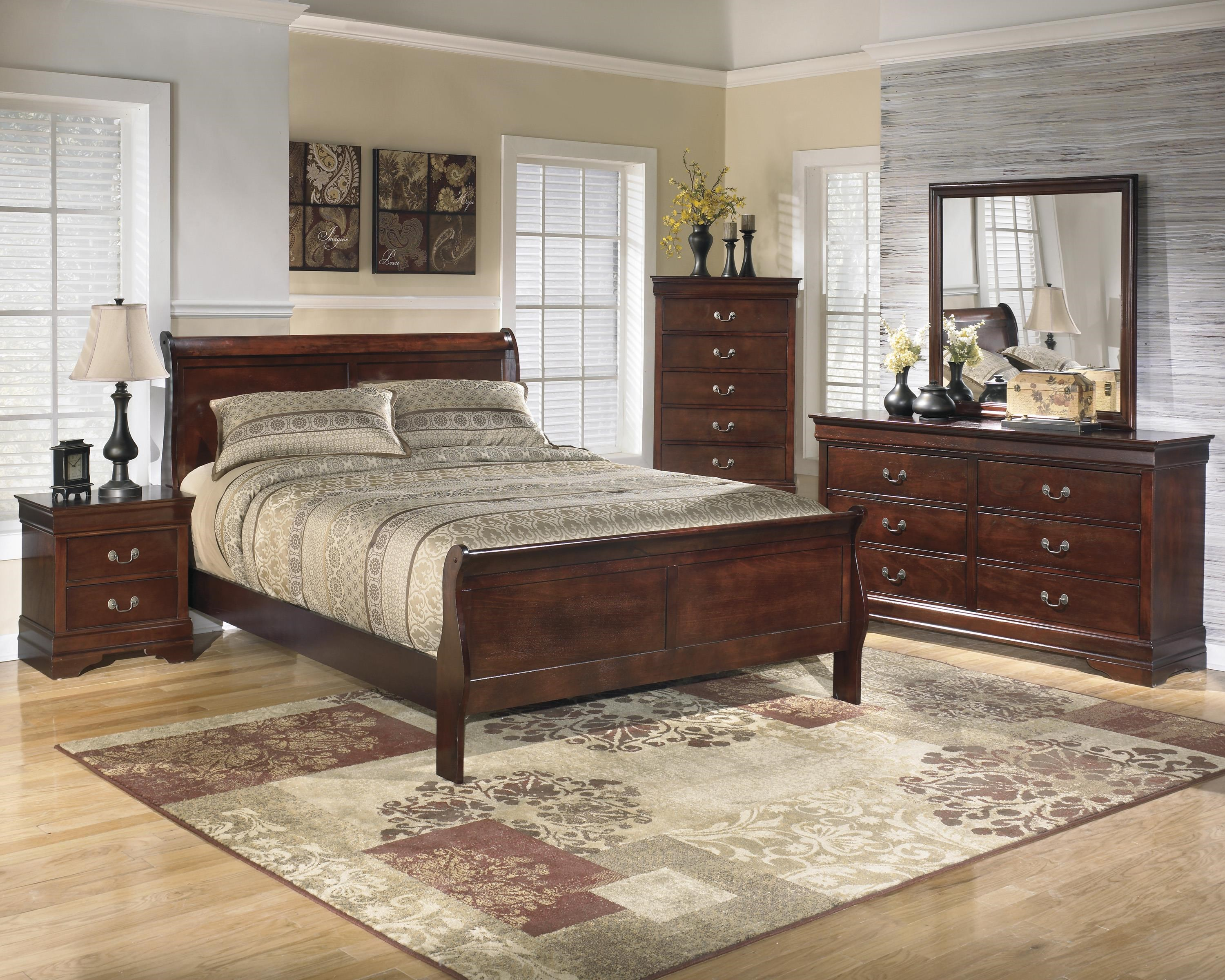 Twin Sleigh Bed Package