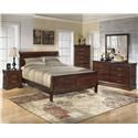 Signature Design by Ashley Alisdair King Sleigh Bed Package - Item Number: 506237660