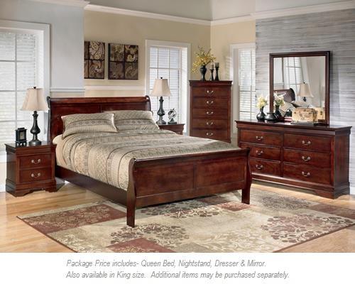 Signature Design by Ashley Alisdair 4PC Queen Bedroom - Item Number: B376 QN BDMNS