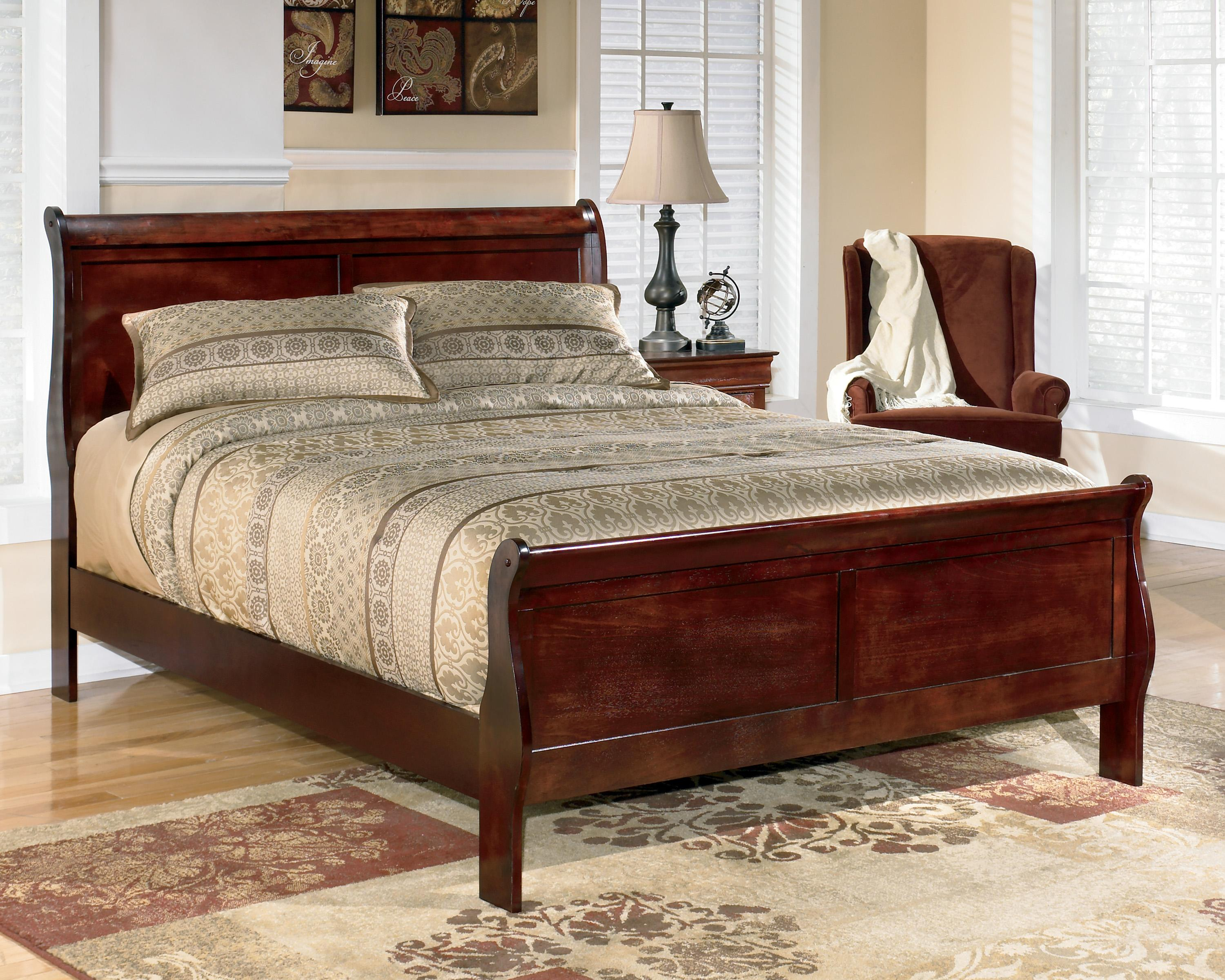 Signature Design by Ashley Alisdair California King Sleigh Bed - Item Number: B376-82+94
