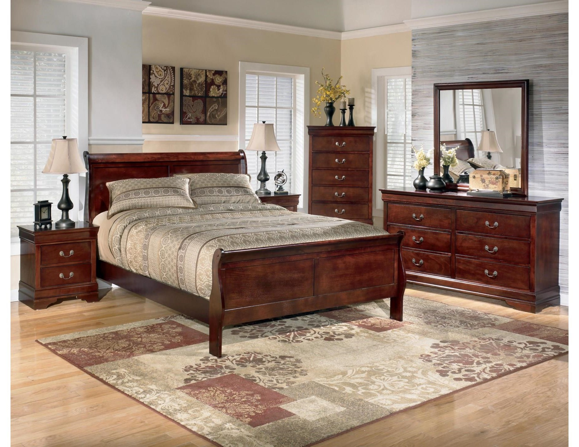 Alisdair 8PC King bedroom group by Signature Design by Ashley at Value City Furniture