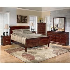 Signature Design by Ashley Furniture Alisdair QUEEN BEDROOM GROUP - Item Number: PKB376QBEDRM