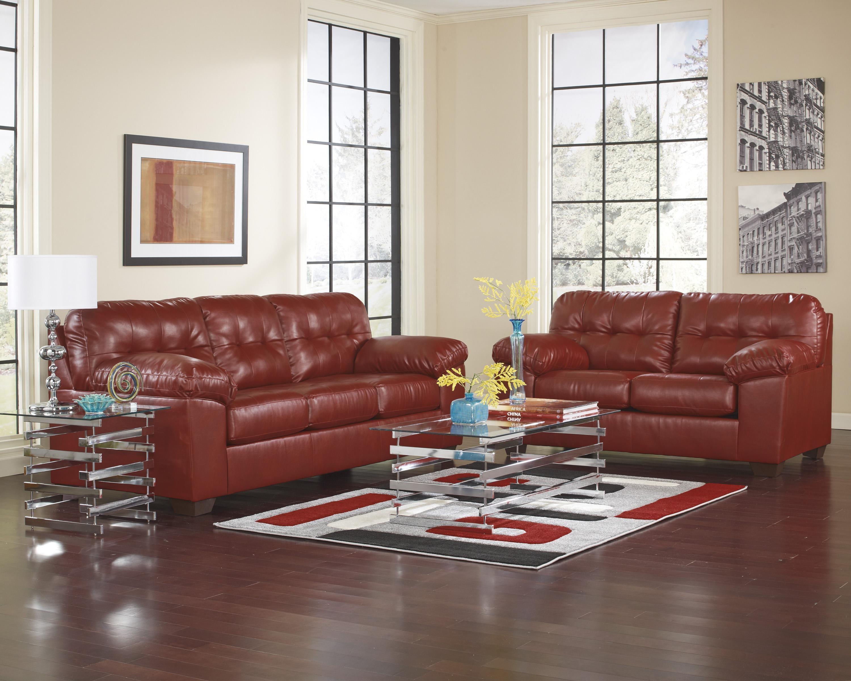 Signature Design by Ashley Alliston DuraBlend® - Salsa Living Room Group - Item Number: 20100 8-PC