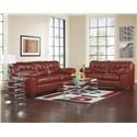 Signature Design by Ashley Alliston DuraBlend® - Salsa Living Room Group - Item Number: 20100 8-PC