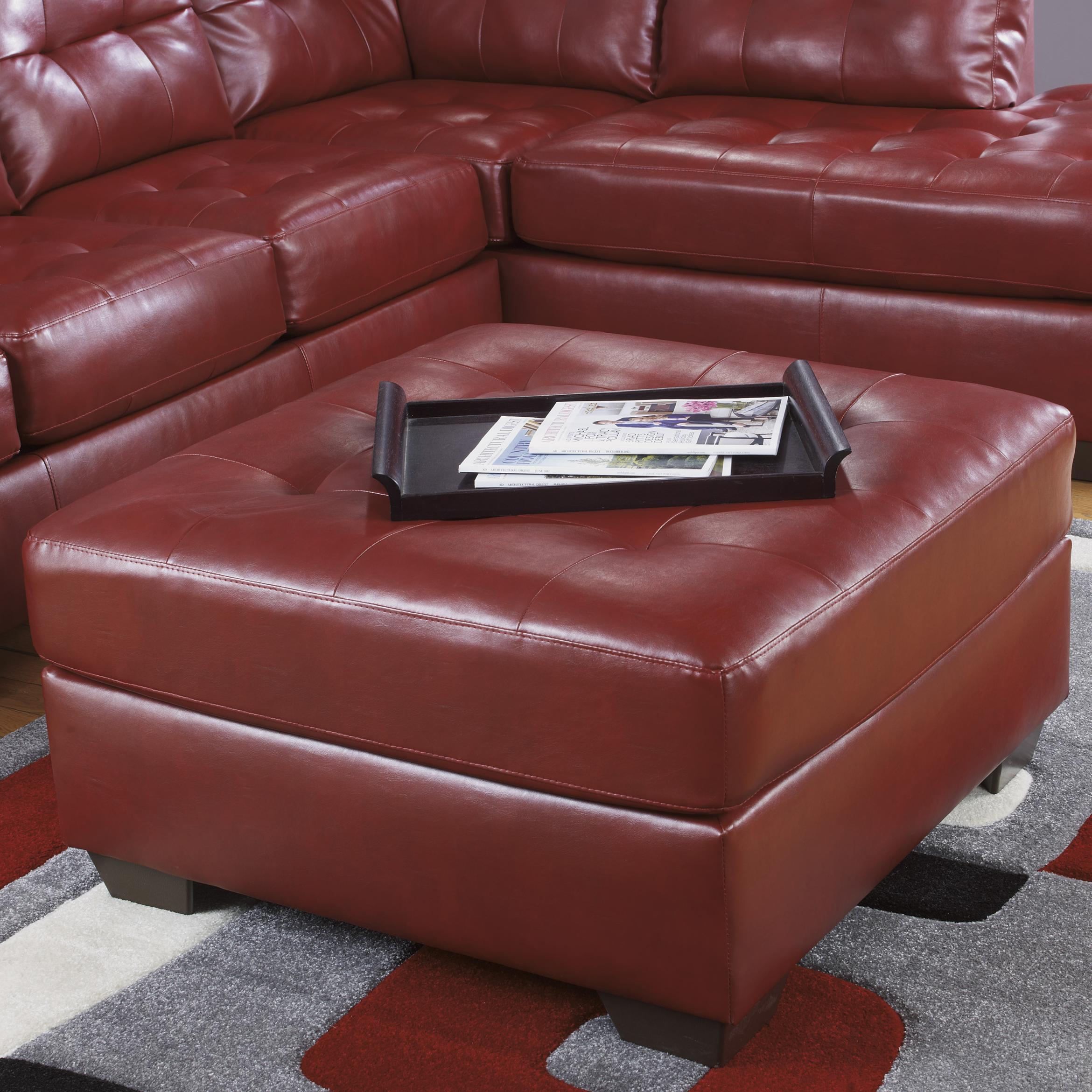 Signature Design by Ashley Furniture Alliston DuraBlend® - Salsa Oversized Accent Ottoman - Item Number: 2010008
