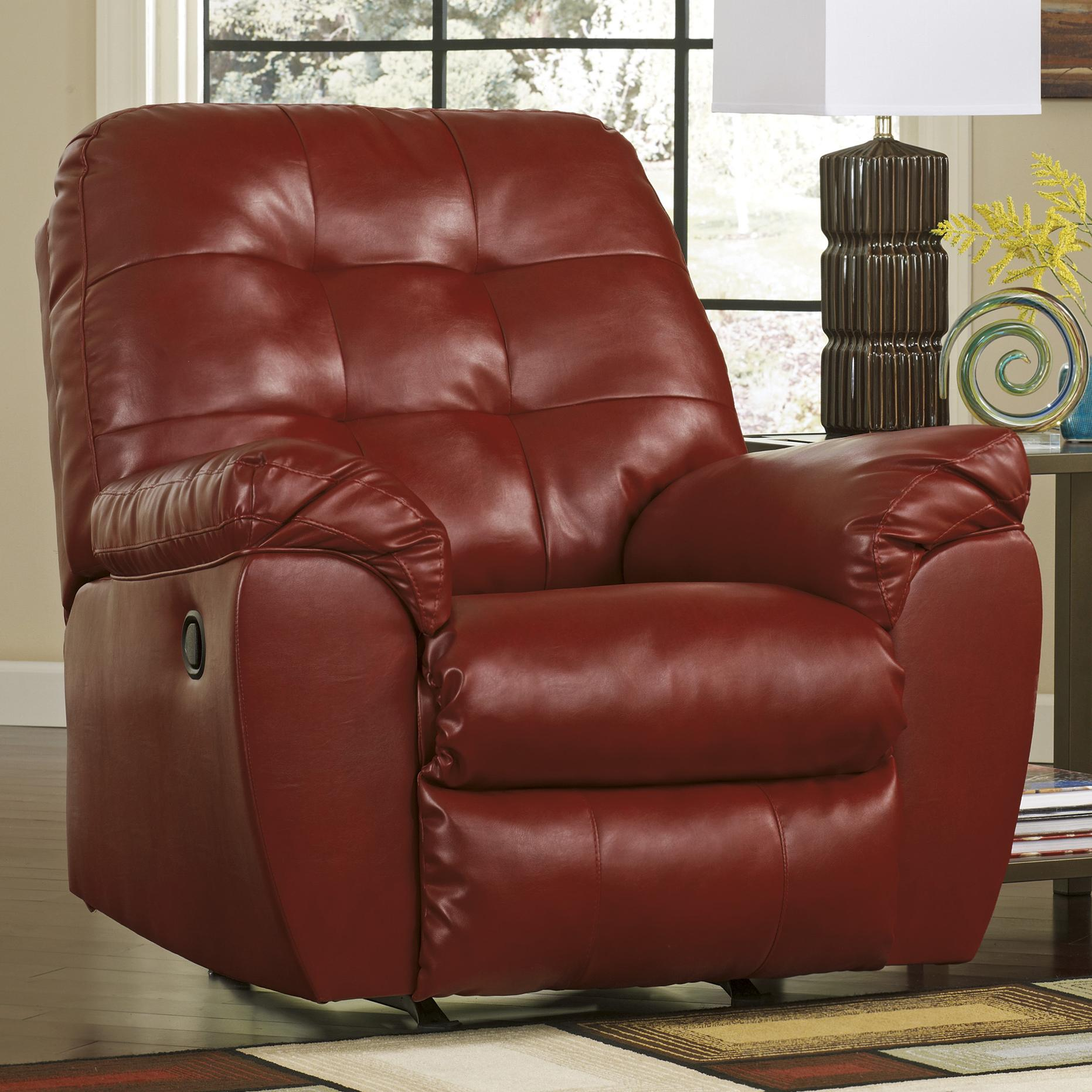 Signature Design by Ashley Alliston DuraBlend® - Salsa Rocker Recliner - Item Number: 2010025