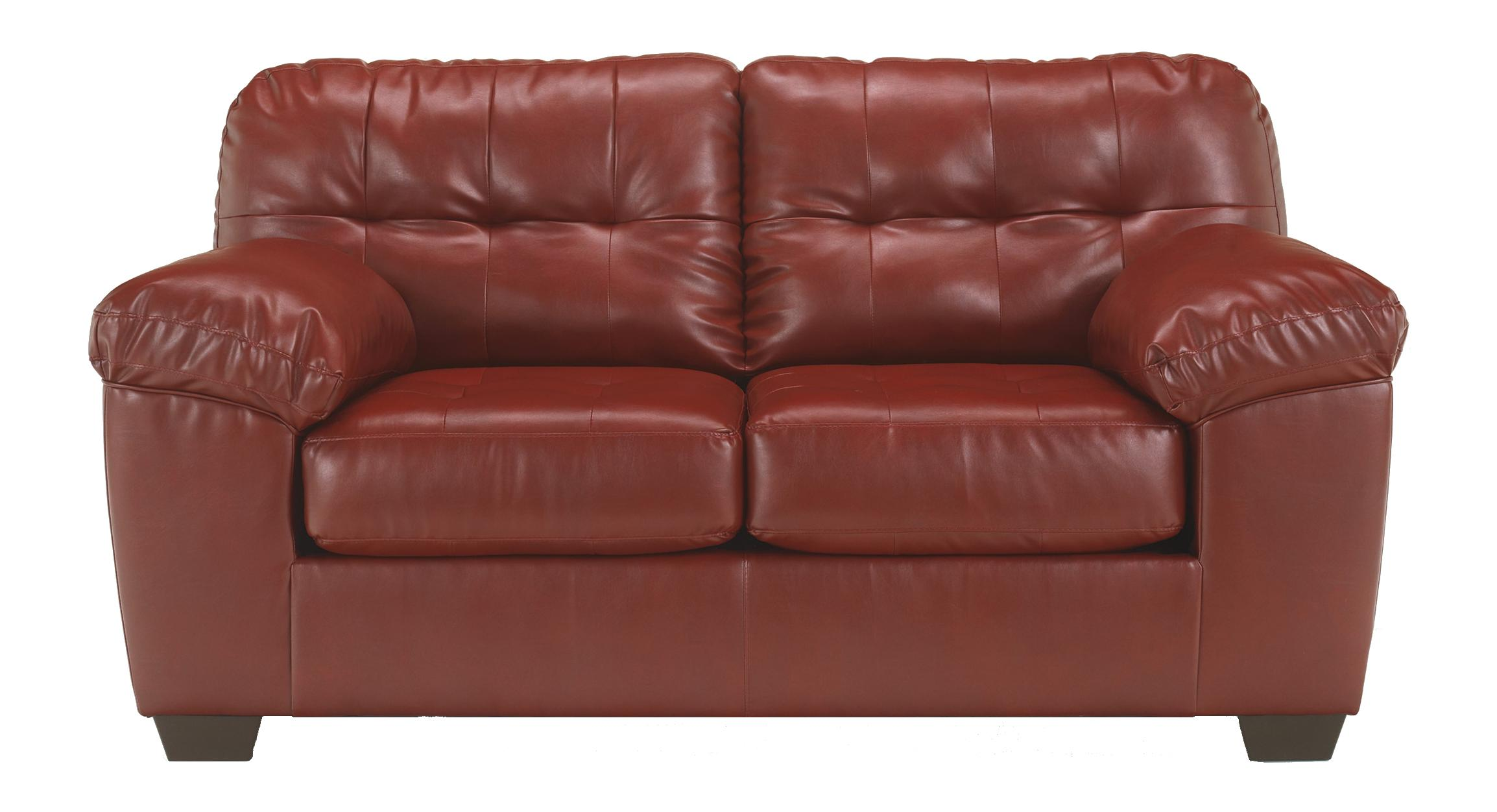 Signature Design by Ashley Alliston DuraBlend® - Salsa Loveseat - Item Number: 2010035