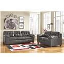Signature Design by Ashley Alliston DuraBlend® - Gray Living Room Group - Item Number: 20102 8-PC