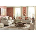 Signature Design by Ashley Almanza Living Room Group - Item Number: 30803 Living Room Group 3