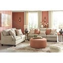 Signature Design by Ashley Almanza Sofa with English Arms