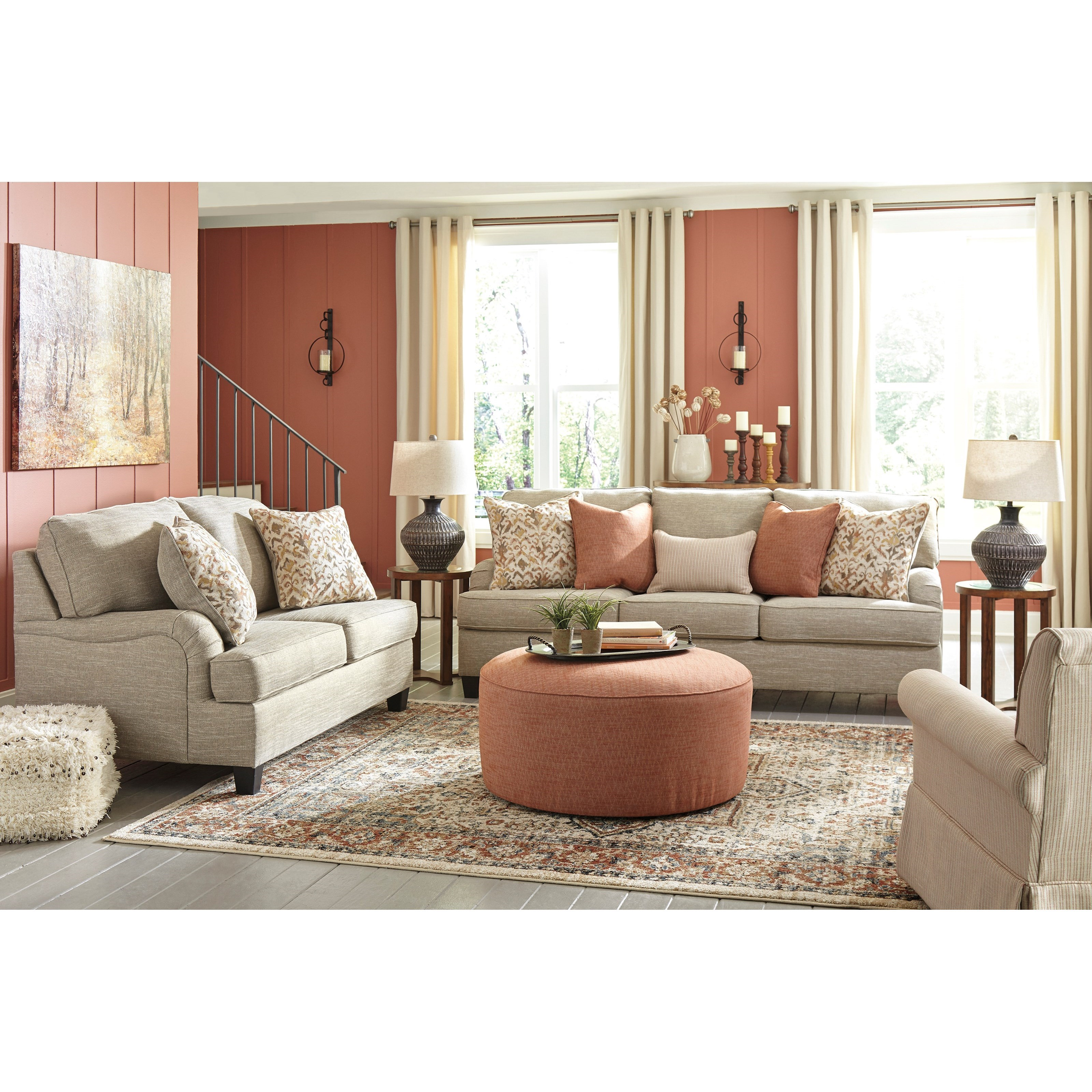 Signature Design by Ashley Almanza Queen Sofa Sleeper with ...
