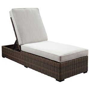 Signature Design by Ashley Alta Grande Chaise Lounge with Cushion