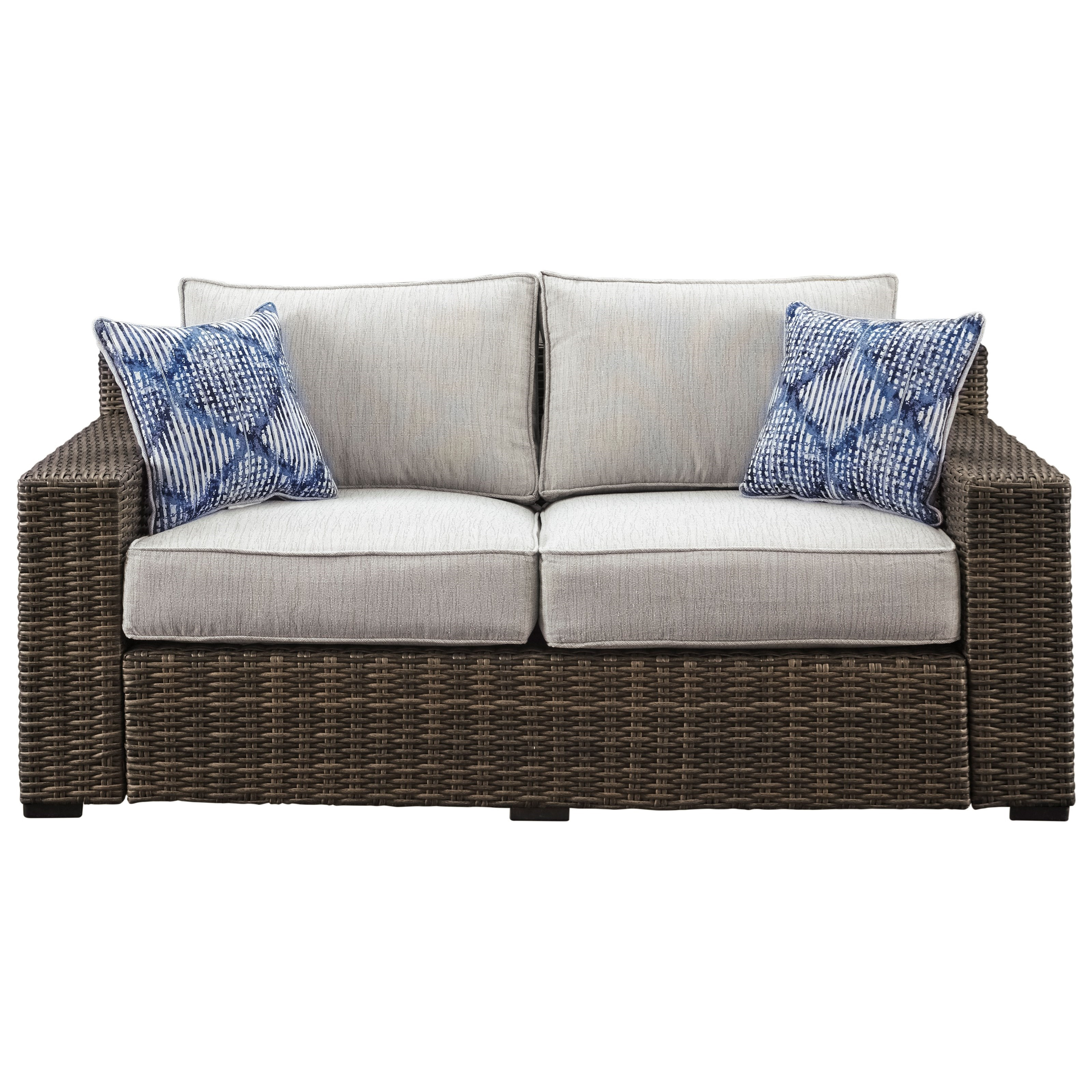 Signature Design by Ashley Alta Grande Loveseat with Cushion - Item Number: P782-835