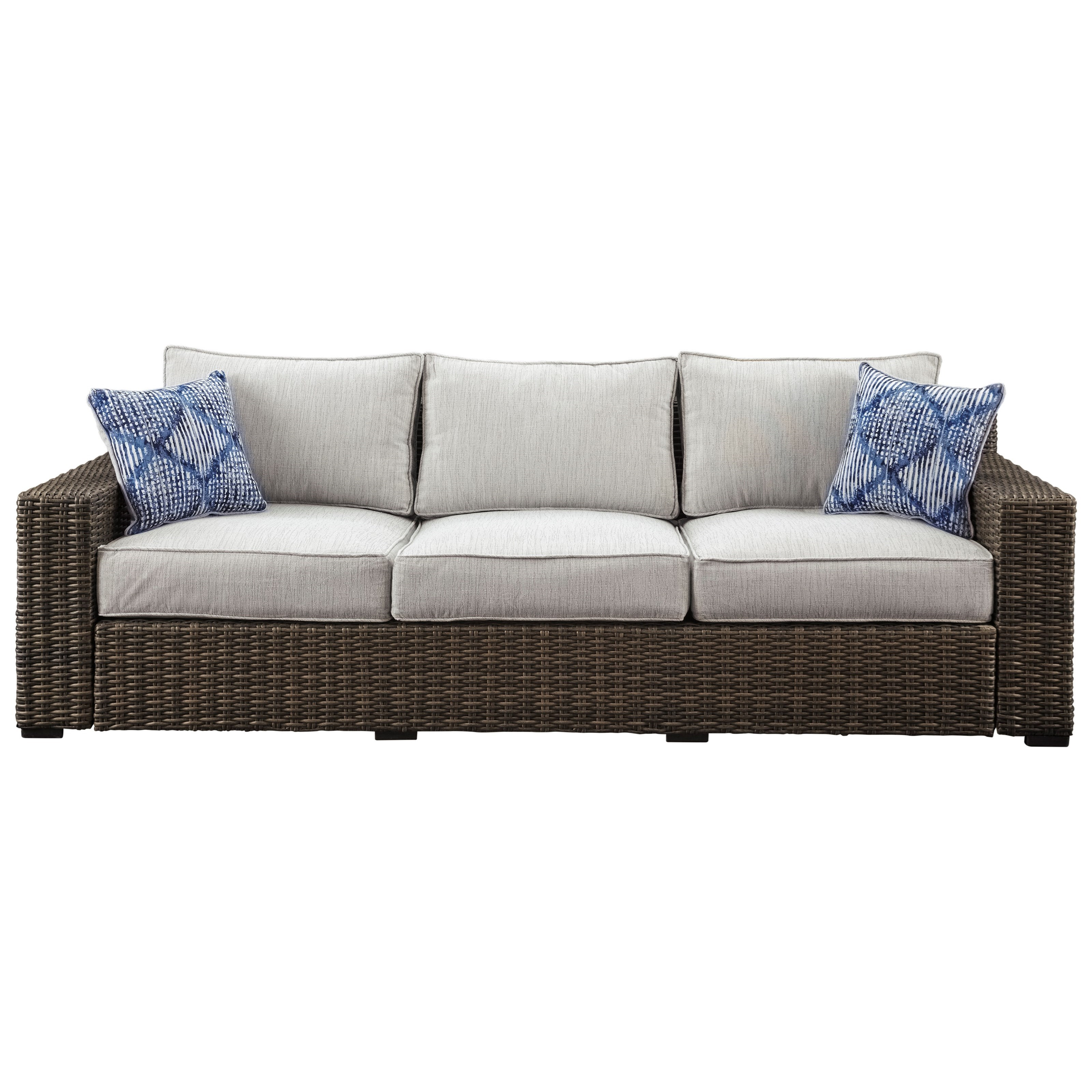 Trendz Woven Paradise Sofa with Cushion - Item Number: P782-838