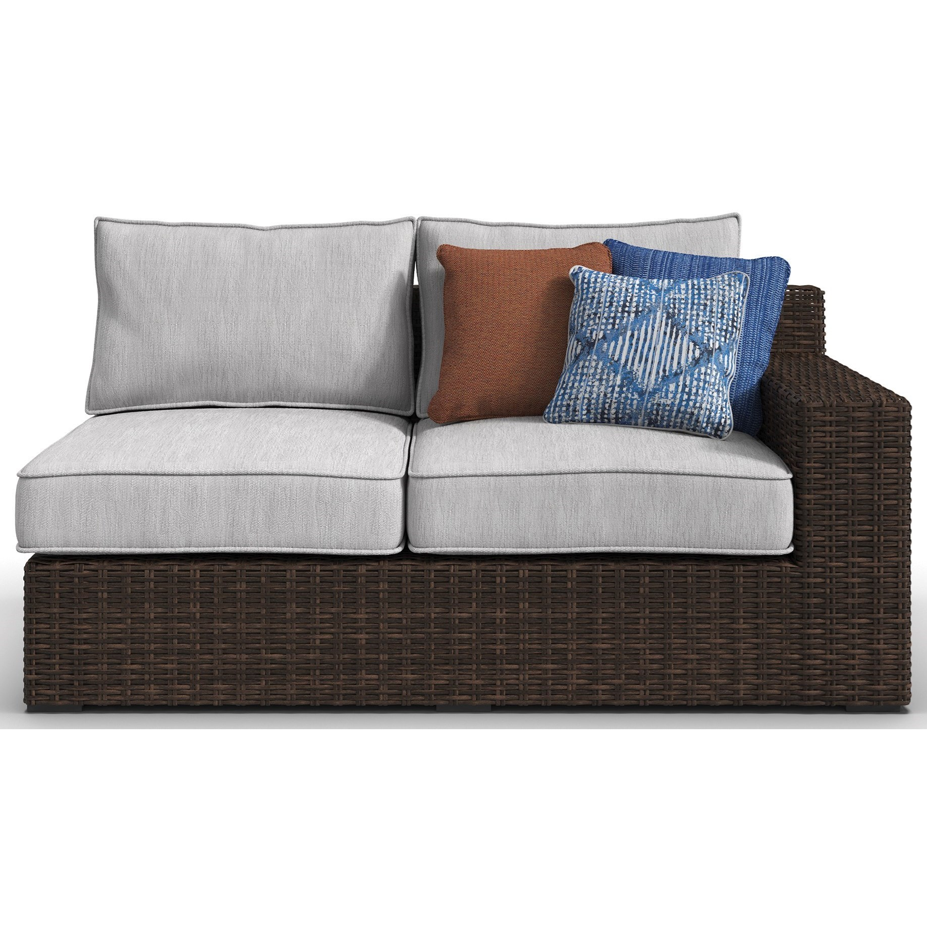 Signature Design by Ashley Alta Grande RAF/LAF Loveseat with Cushion - Item Number: P782-854
