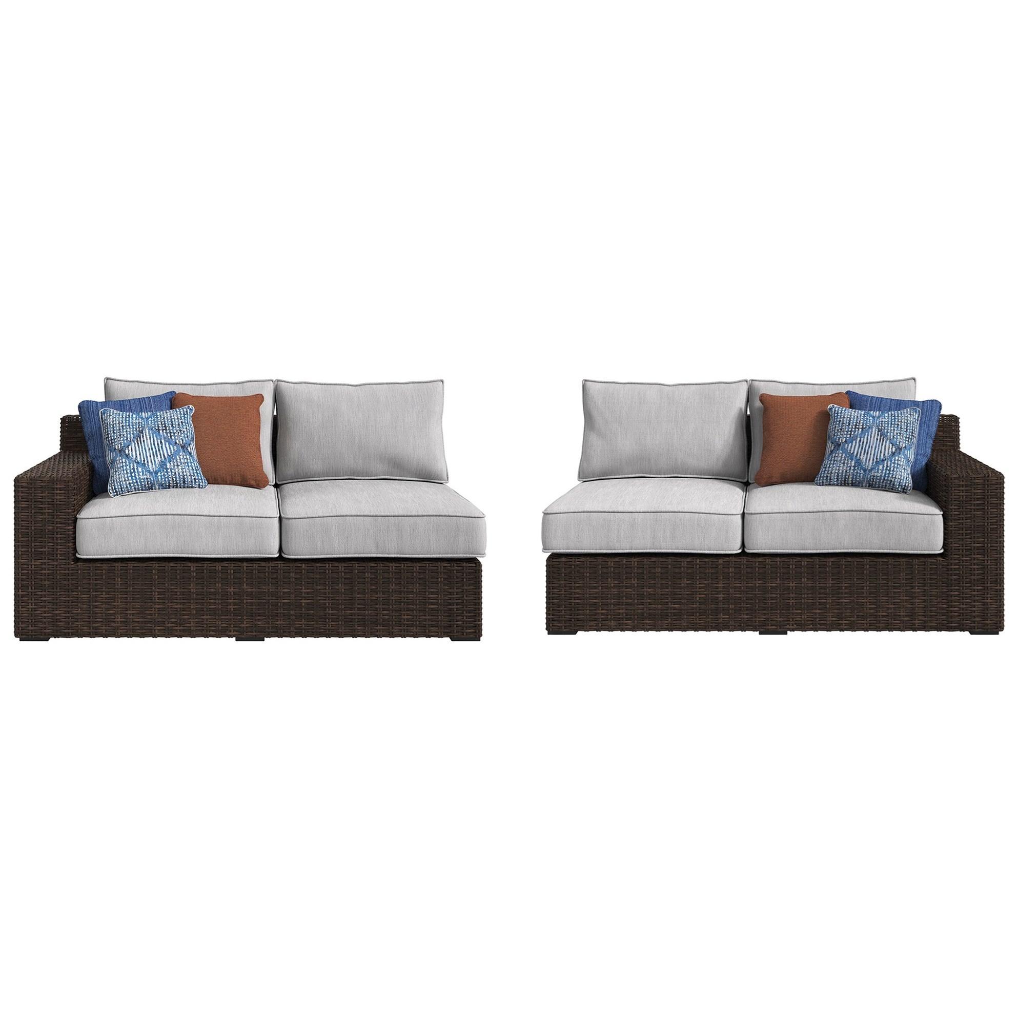 RAF Loveseat & LAF Loveseat with Cushion