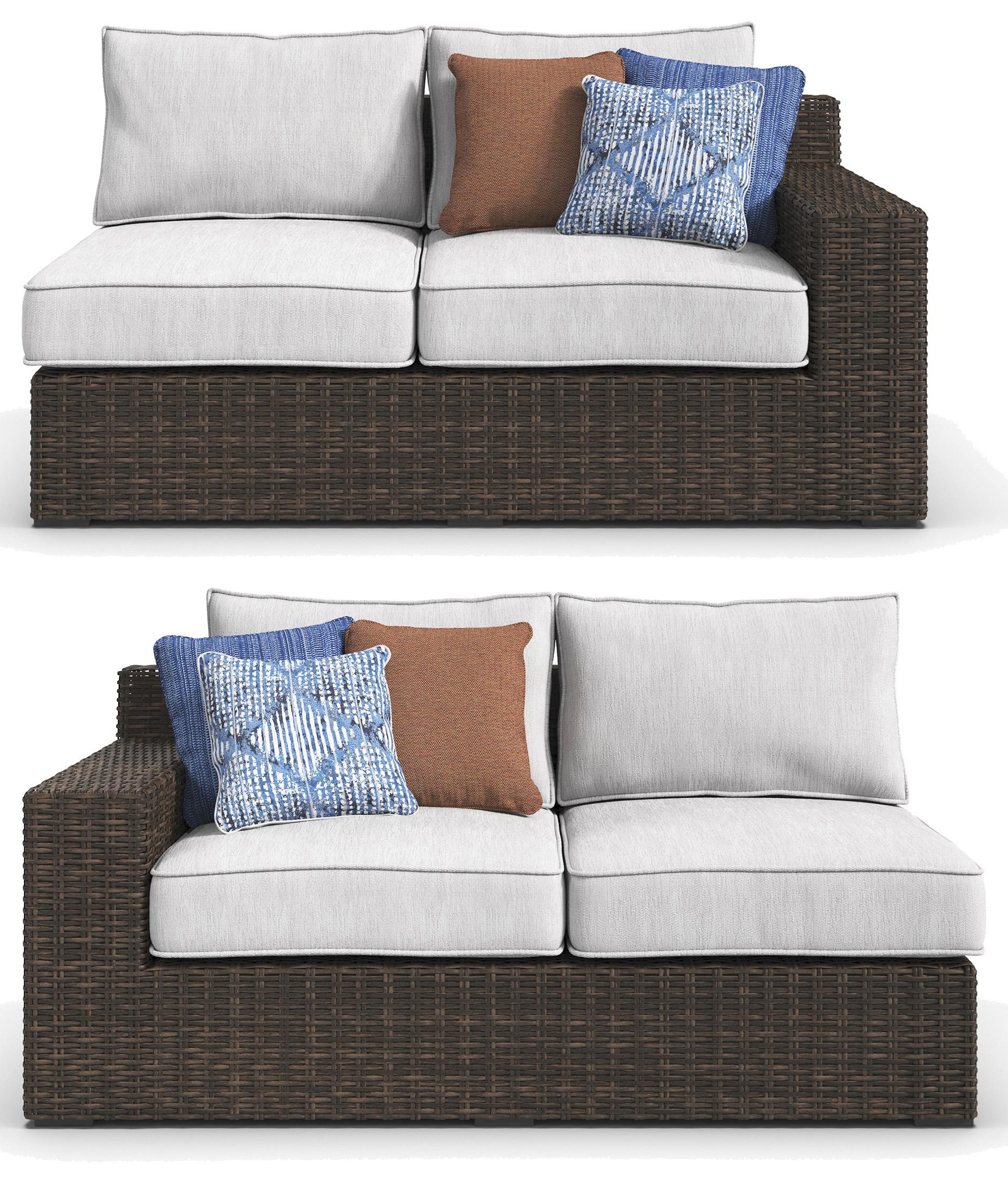 loveseat cushions birch reviews lane wicker with cushion lawson pdp outdoor
