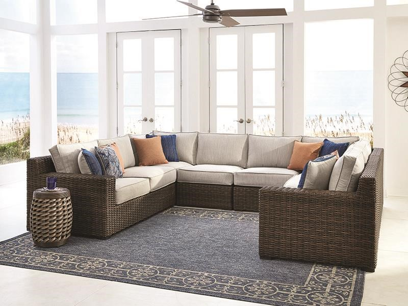 6 Piece Outdoor Sectional