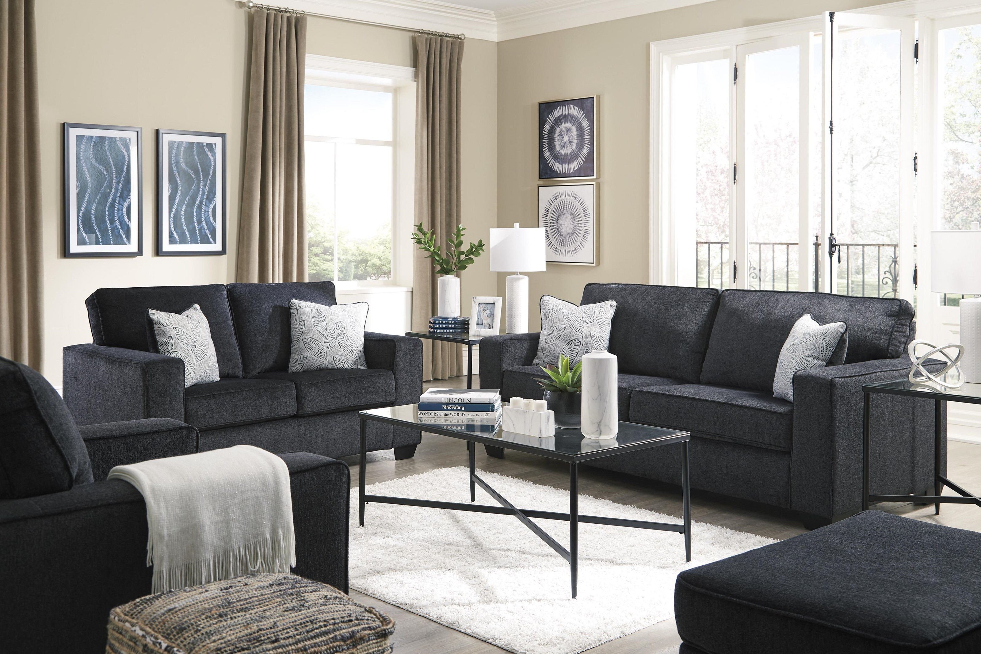 Sofa, Loveseat, Chair and Ottoman Set
