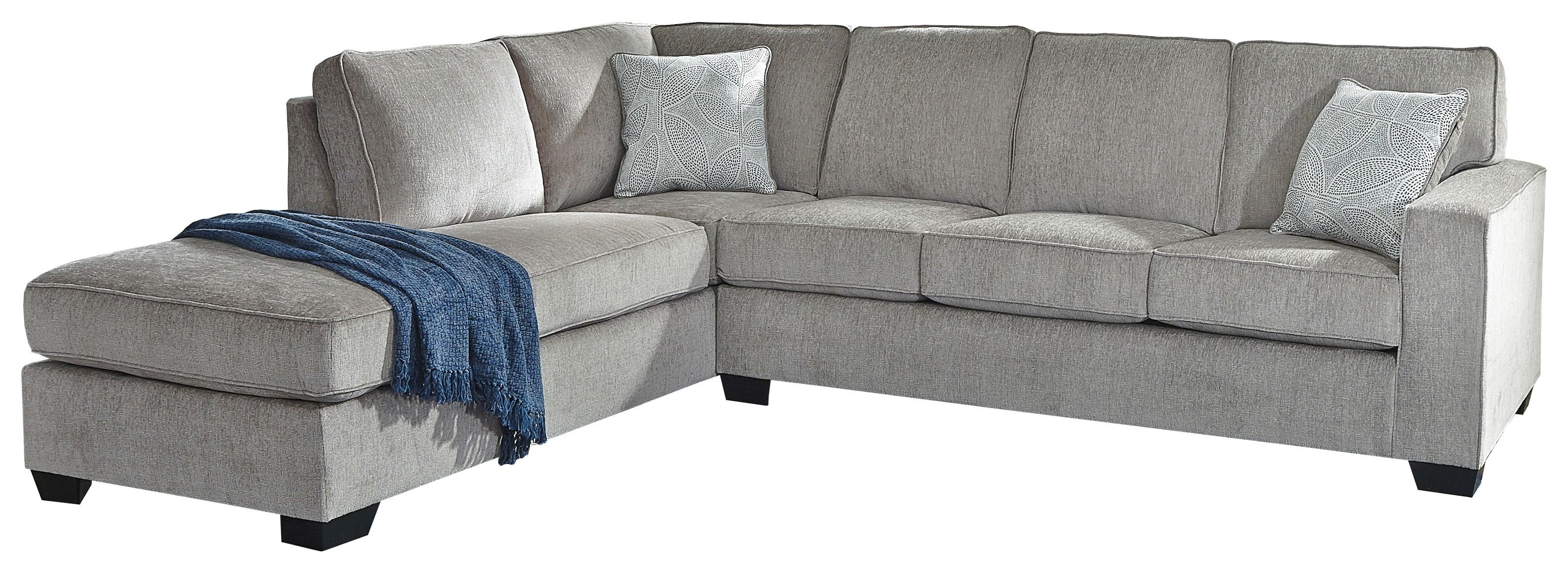 2 PC Sectional, Chair and Ottoman Set
