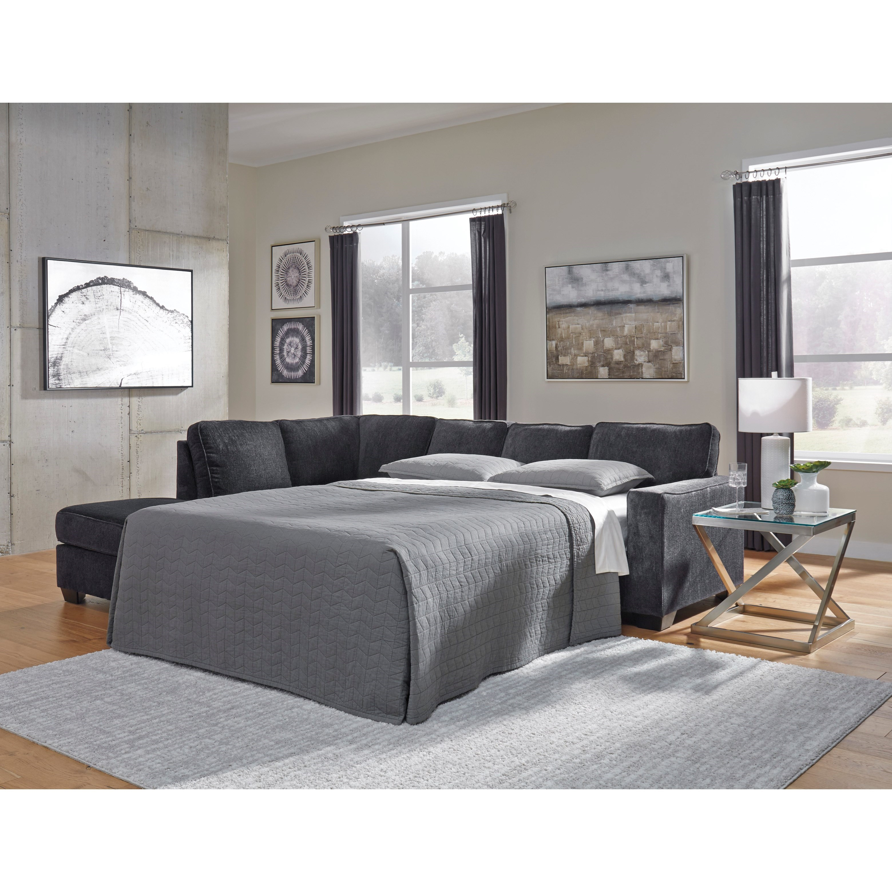 Signature Design By Ashley Altari Sleeper Sectional With