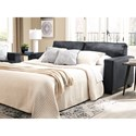 Signature Design by Ashley Altari Queen Sofa Sleeper with Memory Foam Mattress