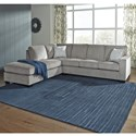 Signature Design by Ashley Altari Sleeper Sectional with Chaise