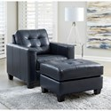 Signature Design by Ashley Altonbury Chair and Ottoman Set - Item Number: 8750320+14