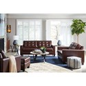 Signature Design by Ashley Altonbury Stationary Living Room Group - Item Number: 87504 Living Room Group 3