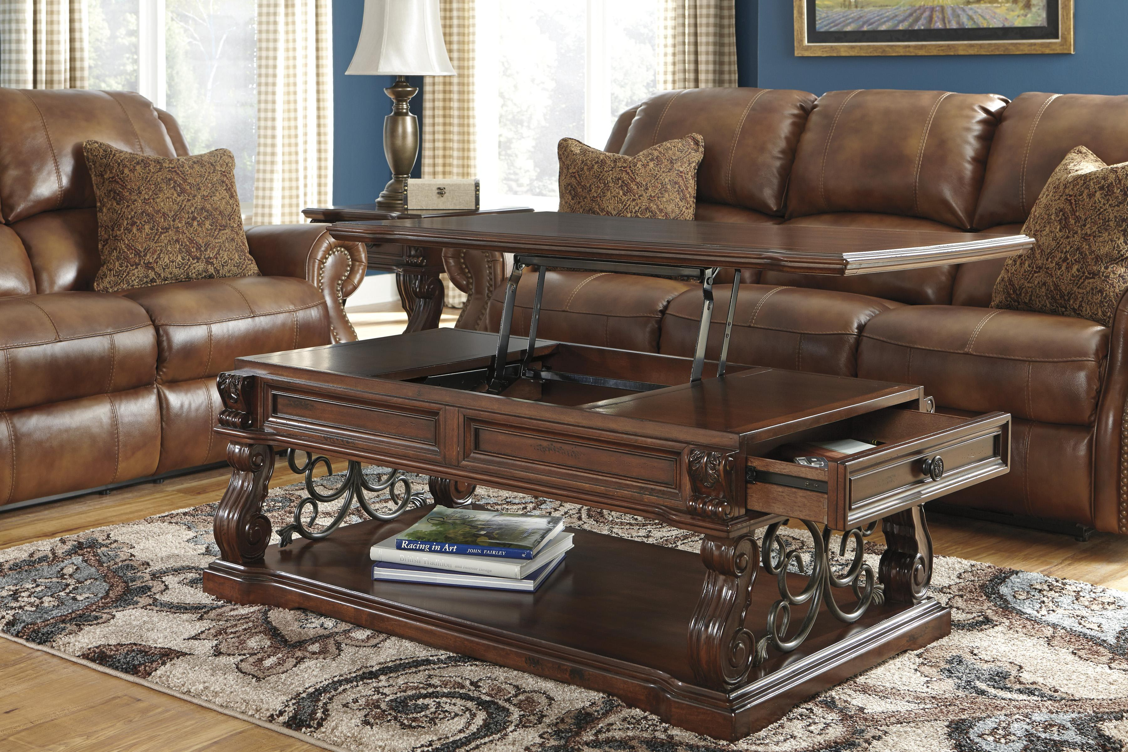 Ashley Signature Design Alymere T869 9 Traditional Lift