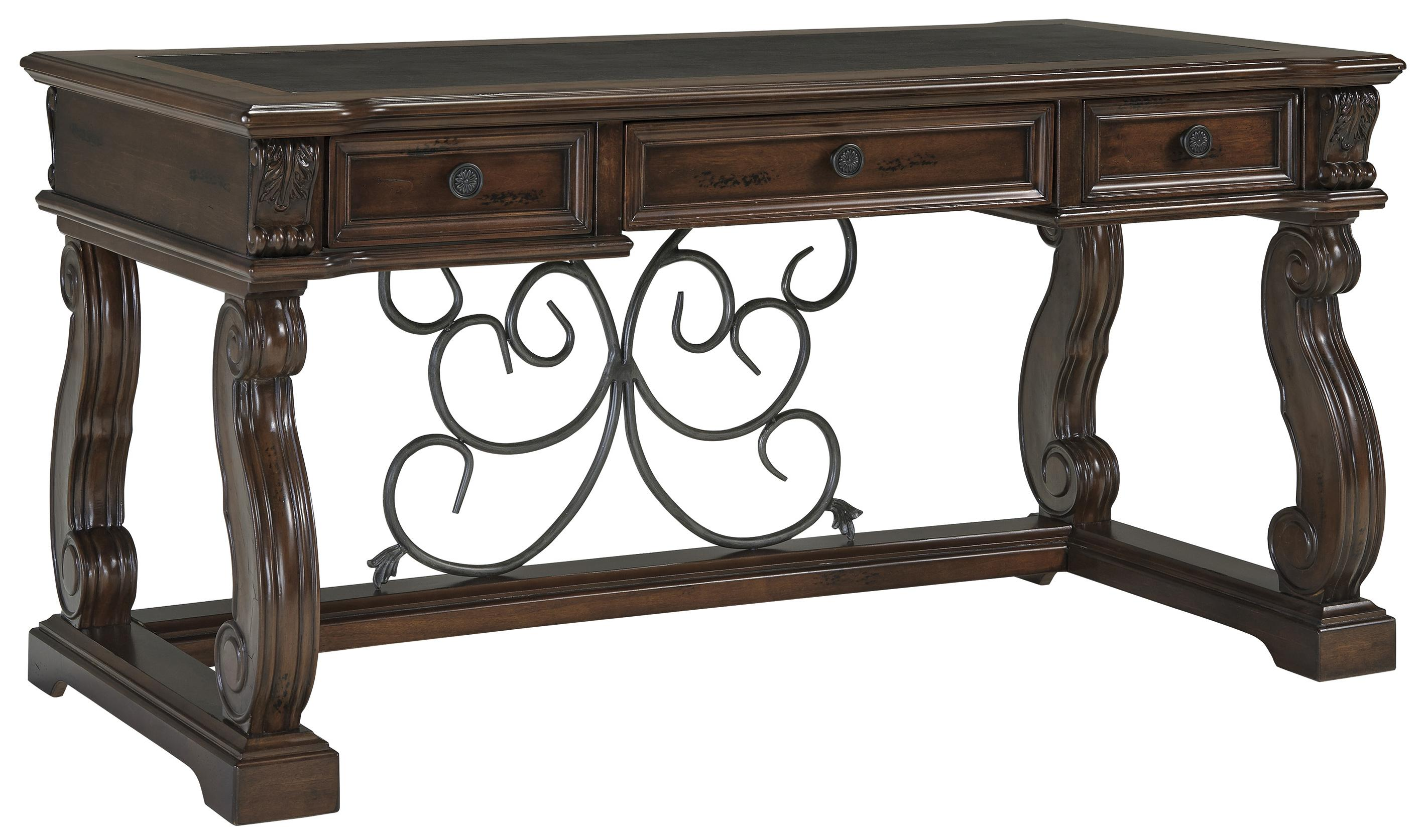 Signature Design by Ashley Alymere  Home Office Desk - Item Number: H669-44