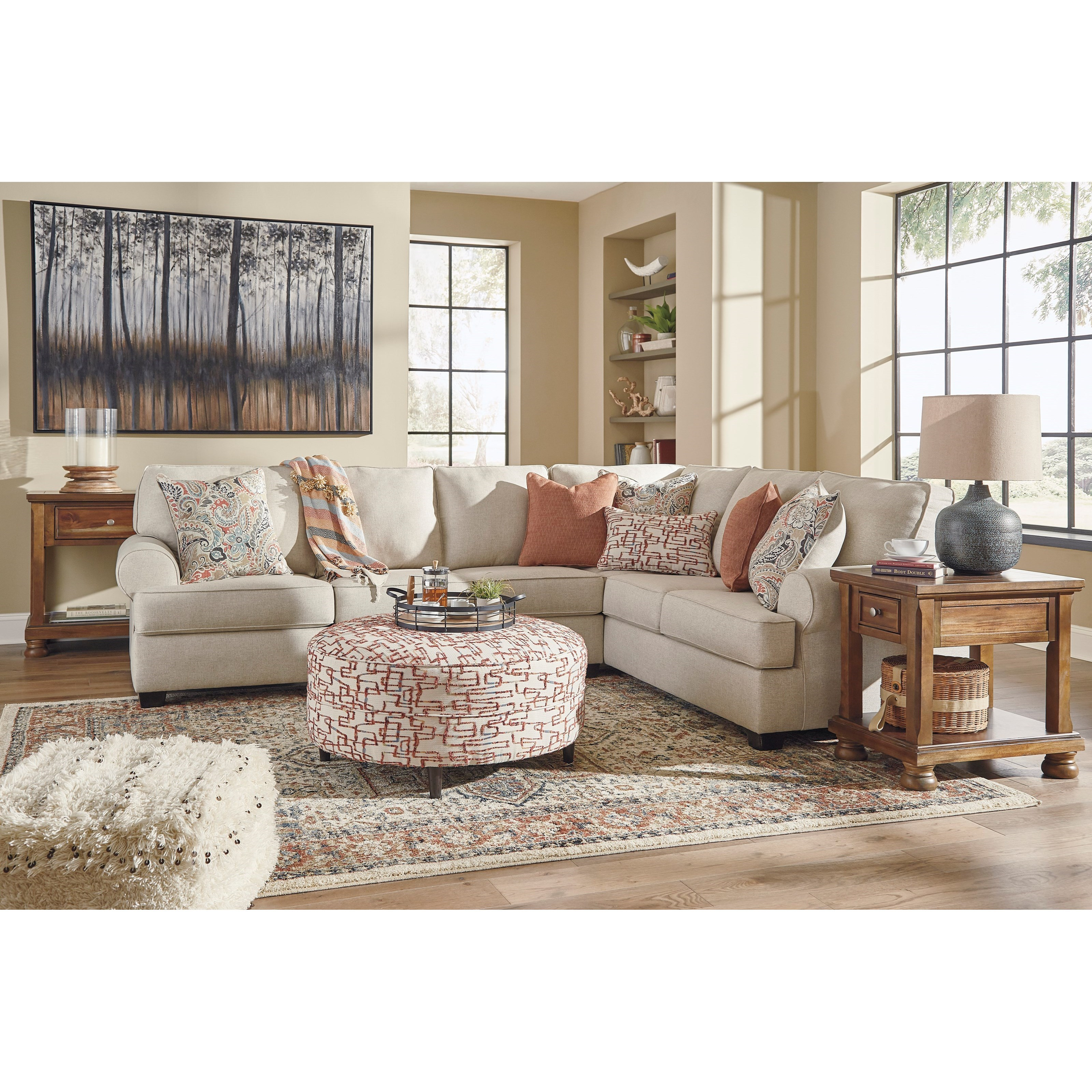 Amici Living Room Group at Van Hill Furniture