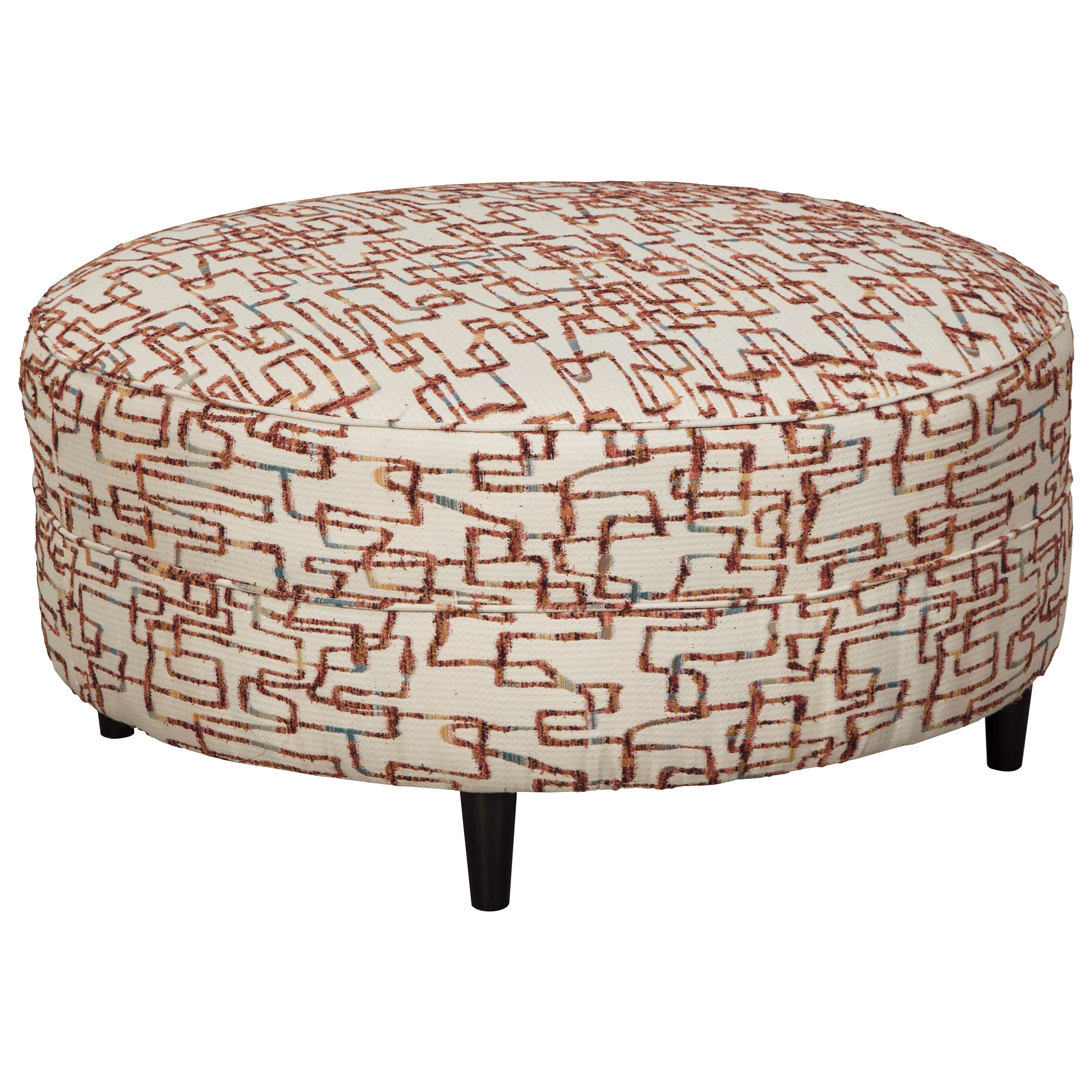 Amici Oversized Accent Ottoman by Signature Design at Fisher Home Furnishings