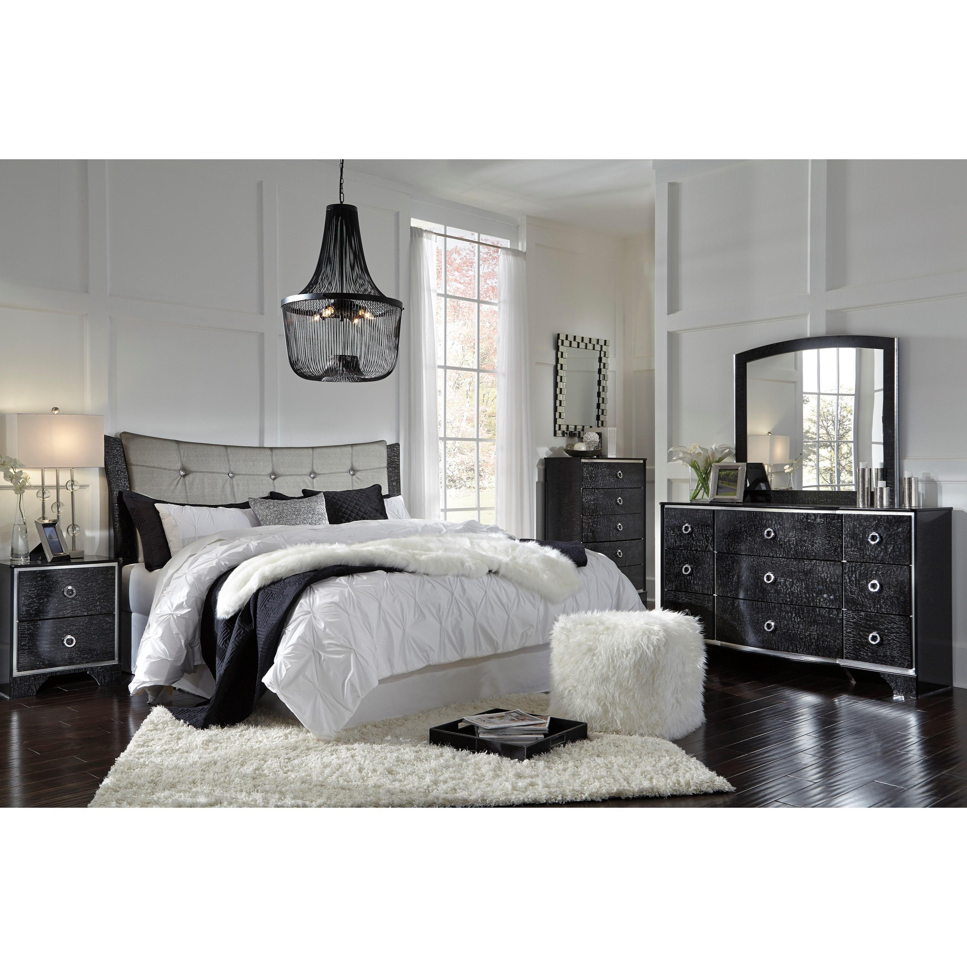 Signature Design by Ashley Amrothi King Bedroom Group - Item Number: B257 K Bedroom Group 2