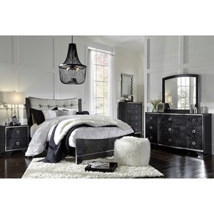 Signature Design by Ashley Amrothi Queen Bedroom Group