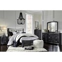 Signature Design by Ashley Amrothi Queen Bedroom Group - Item Number: B257 Q Bedroom Group 1