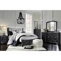 Ashley (Signature Design) Amrothi Queen Bedroom Group - Item Number: B257 Q Bedroom Group 1