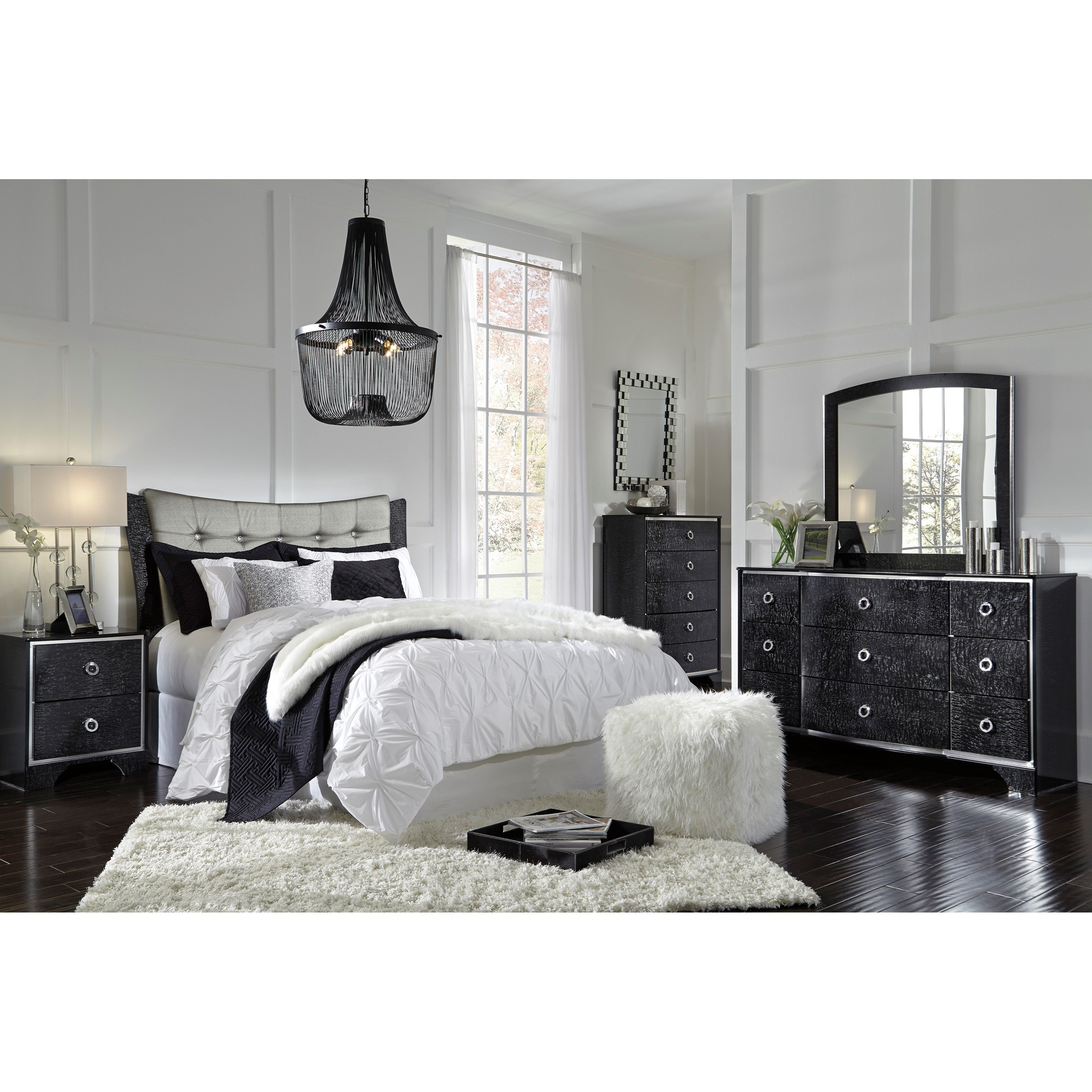 Signature Design by Ashley Amrothi Queen Bedroom Group - Item Number: B257 Q Bedroom Group 2
