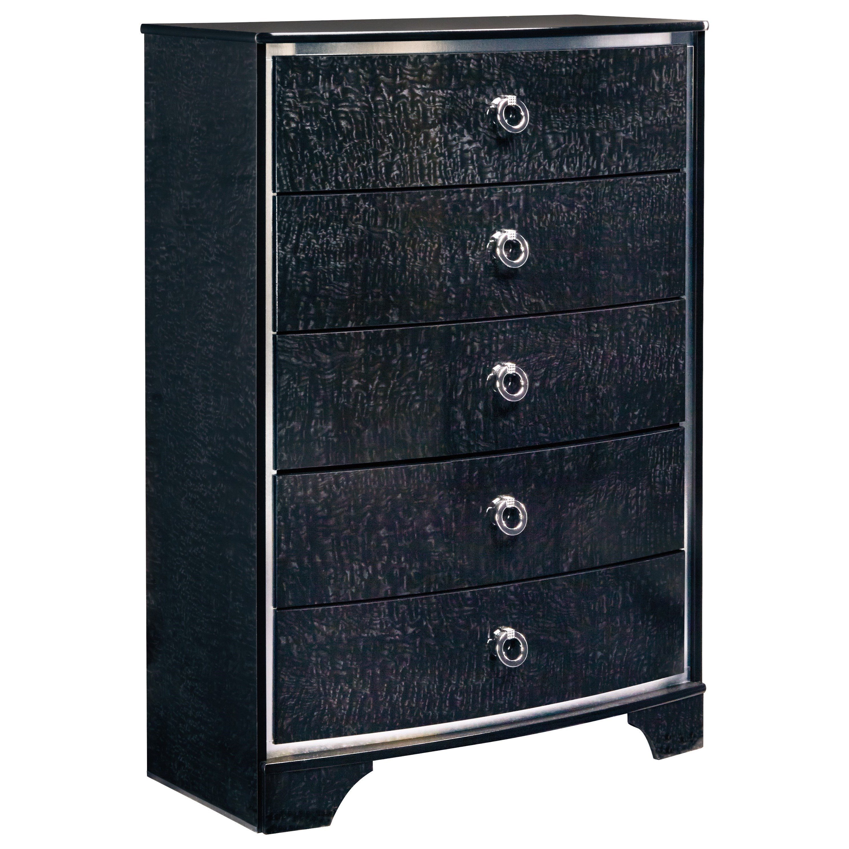 Signature Design by Ashley Amrothi Five Drawer Chest - Item Number: B257-46