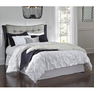 Signature Design by Ashley Amrothi Queen Upholstered Panel Headboard