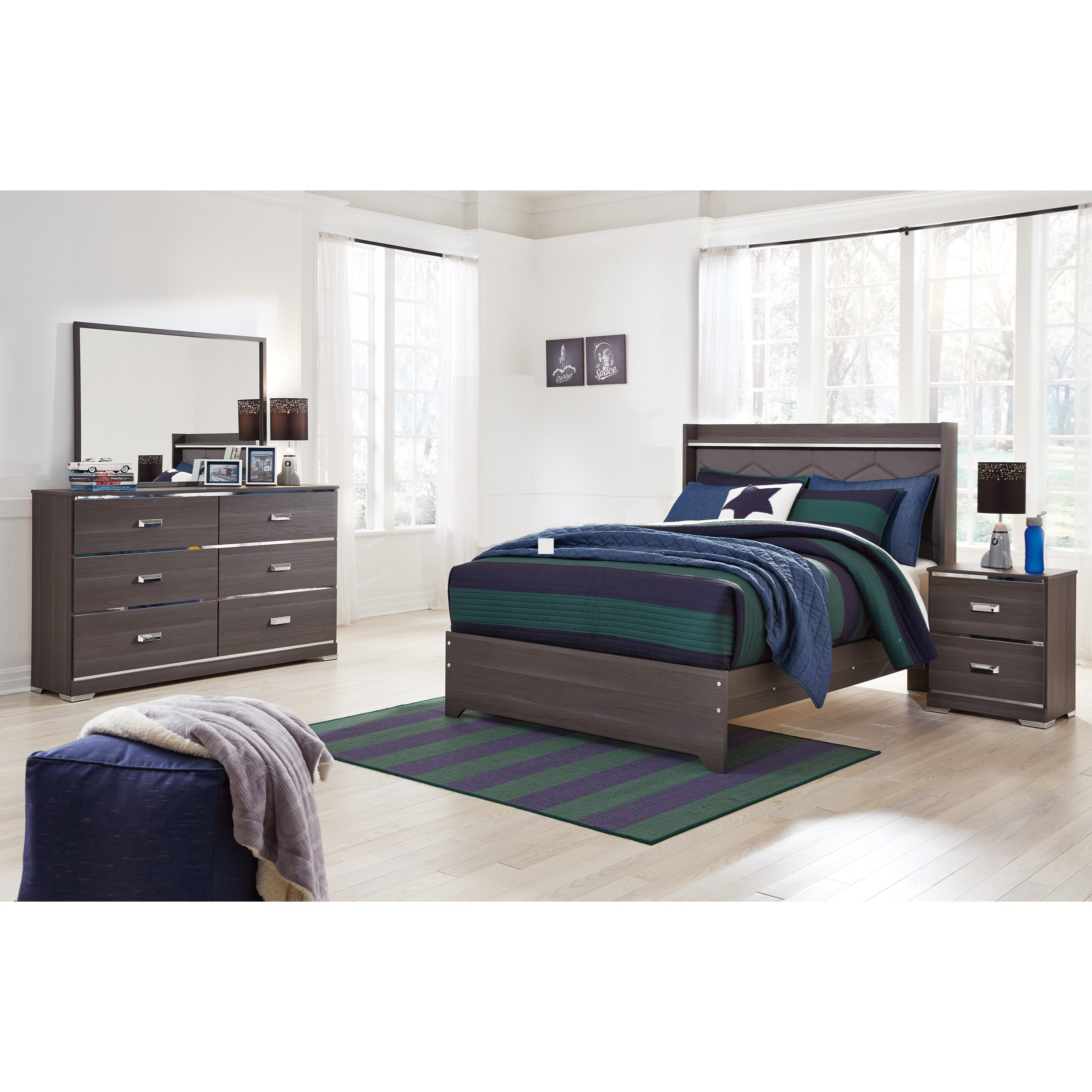 Signature Design by Ashley Annikus Full Bedroom Group - Item Number: B132 F Bedroom Group 2