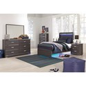 Signature Design by Ashley Annikus Twin Bedroom Group - Item Number: B132 T Bedroom Group 1