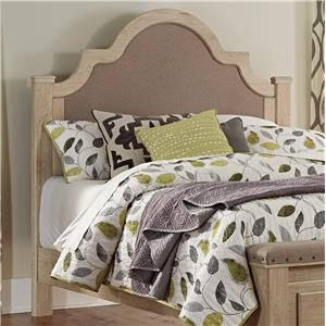 Signature Design by Ashley Annilyn Queen Upholstered Poster Headboard