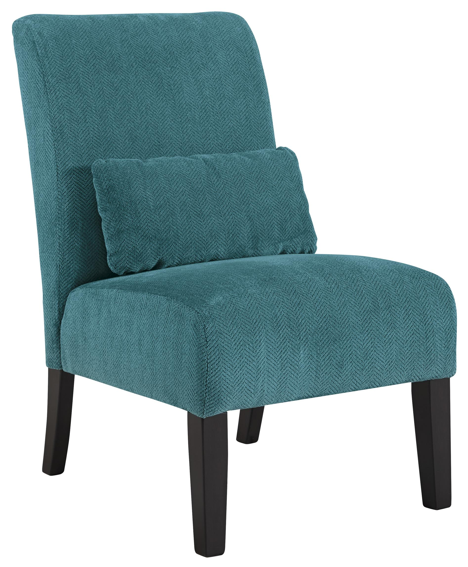 Signature Design by Ashley Annora - Teal Accent Chair - Item Number: 6160460