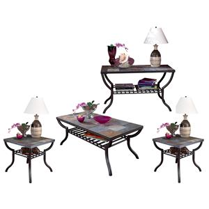Signature Design by Ashley Antigo 4-Piece Occasional Table Set