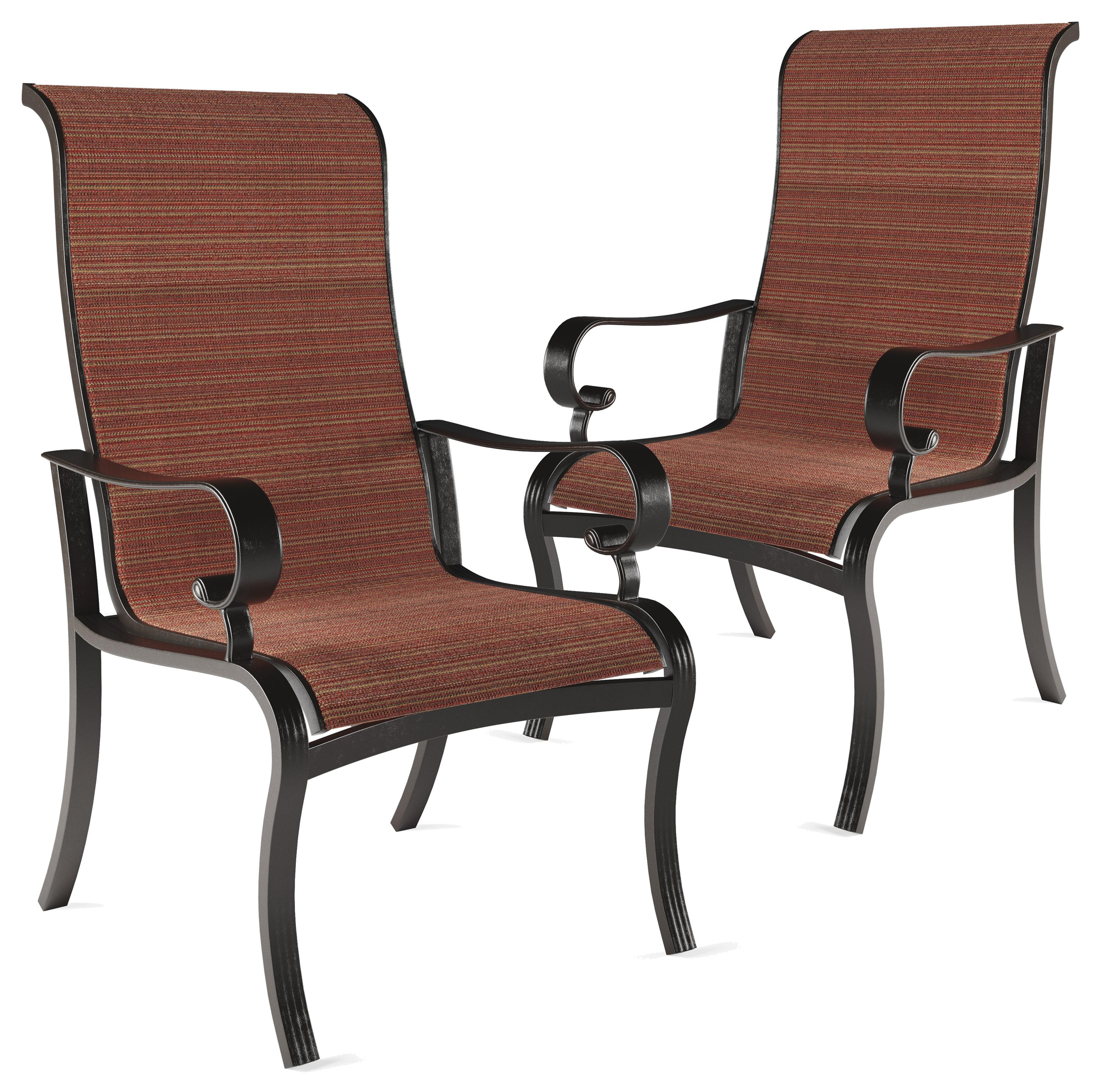 Trendz Artisan Sun Set of 2 Sling Chairs - Item Number: P316-601A