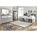Signature Design by Ashley Arcella Twin Bedroom Group - Item Number: B176 T Bedroom Group 5