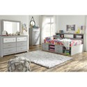 Signature Design by Ashley Arcella Full Bookcase Daybed with Reversible Panel