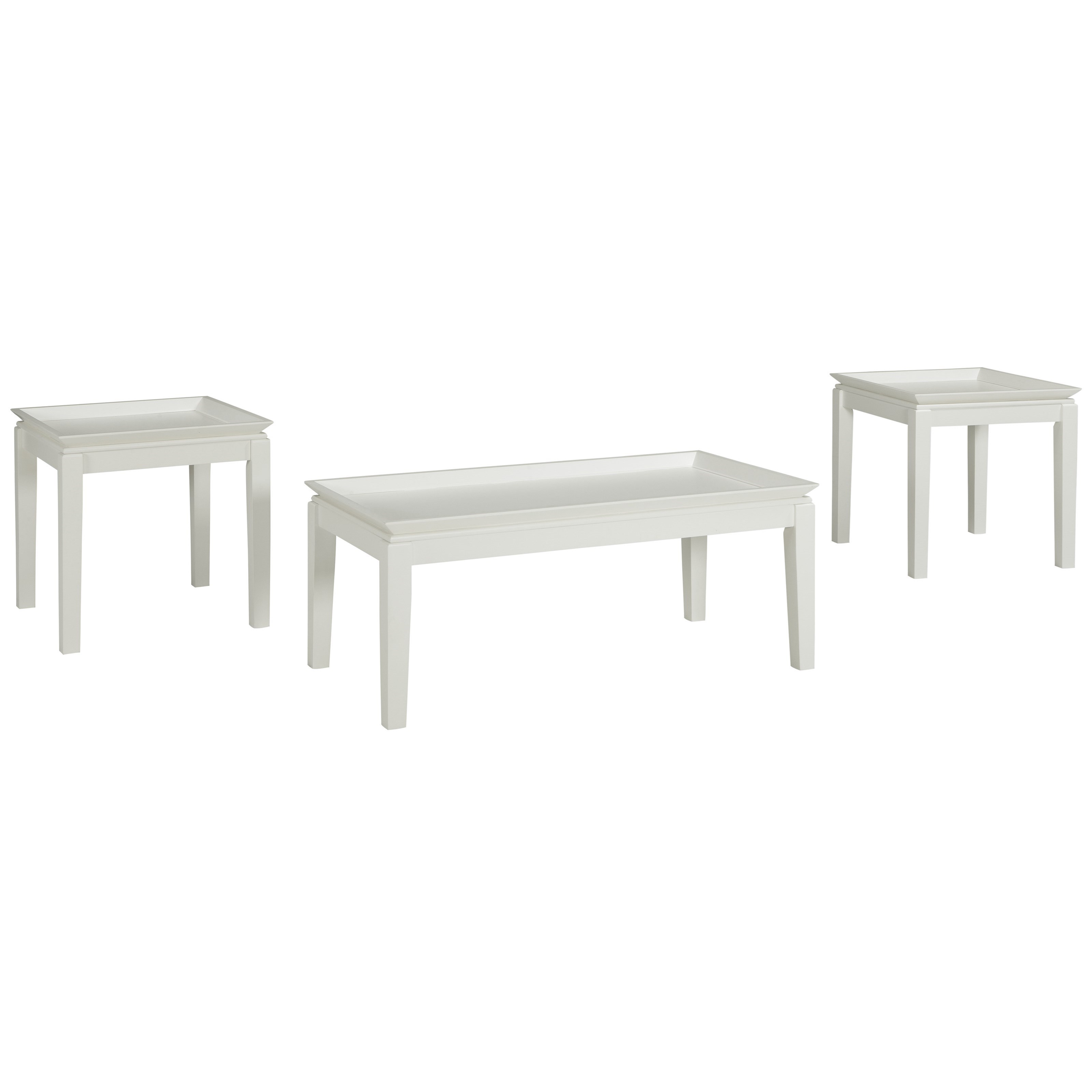 Signature Design by Ashley Ardintown 3 Piece Occasional Table Set - Item Number: T262-13