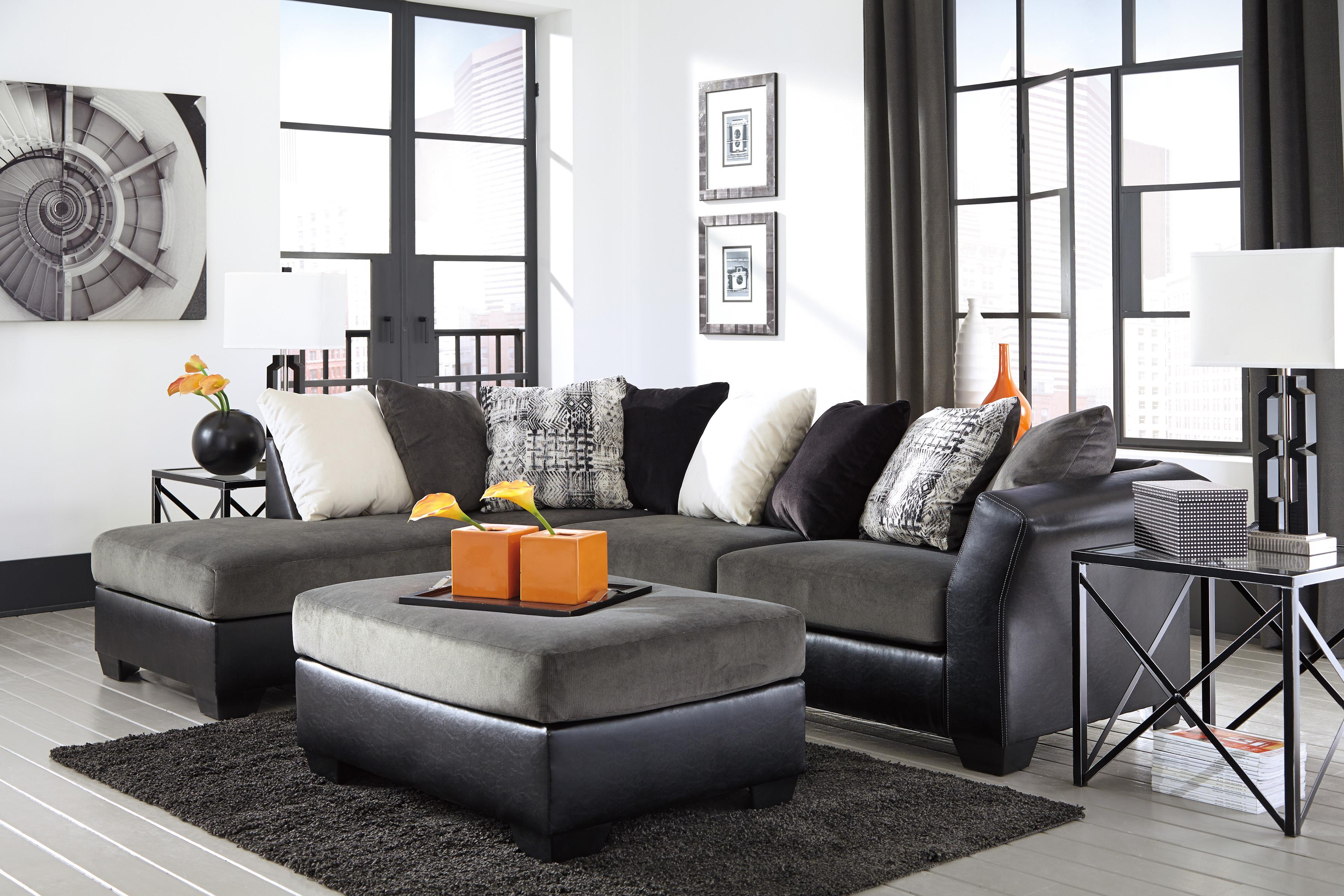 Signature Design by Ashley Armant Stationary Living Room Group - Item Number: 20200 Living Room Group 2